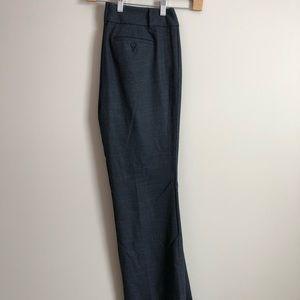 LOFT Julie Blue/Gray Trouser Pant